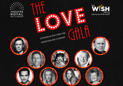 Full lineup for the Love Gala charity event, Christopher Biggins, Chris Clarkson
